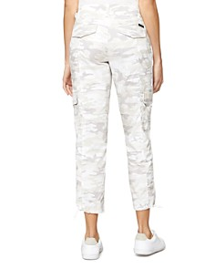 Sanctuary - Terrain Cropped Camouflage-Print Cargo Pants