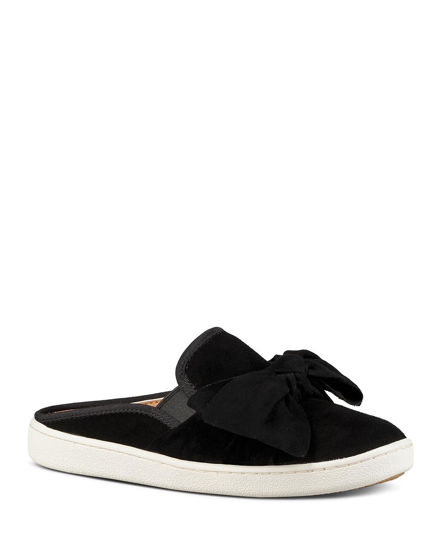 UGG Women's Luci Nubuck Leather Slip-On Sneakers qoCIGW
