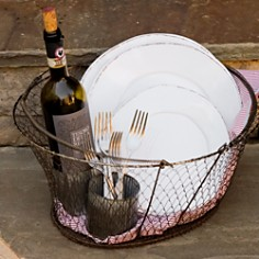 VIETRI - Melamine Lastra White Salad Plate