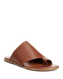 Vince - Women's Edris Leather Slide Sandals