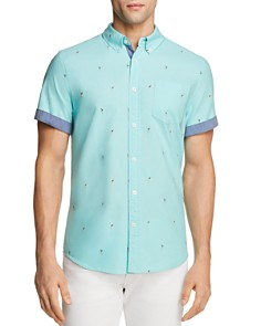 JACHS NY Hula Girl Regular Fit Button-Down Shirt - 100% Exclusive - Bloomingdale's_0