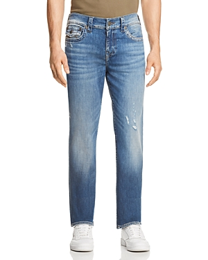 True Religion RICKY FLAP RELAXED FIT JEANS IN MIDNIGHT MENACE