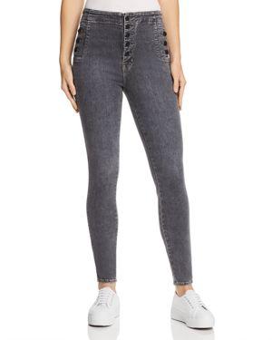 Natasha Sky High High Waist Super Skinny Jeans, Obscura