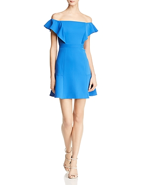 Bcbgmaxazria Off-the-Shoulder Dress