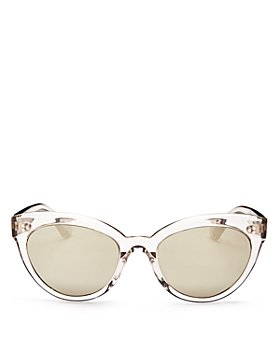 Oliver Peoples - Women's Roella Mirrored Cat Eye Sunglasses, 55mm