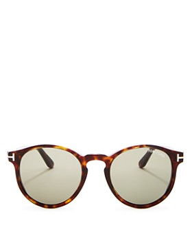 Tom Ford - Men's Ian Round Sunglasses, 51mm