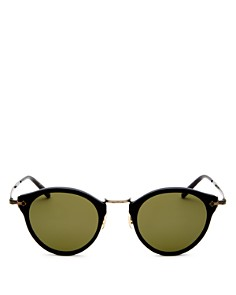 Oliver Peoples - Men's Round Sunglasses, 44mm