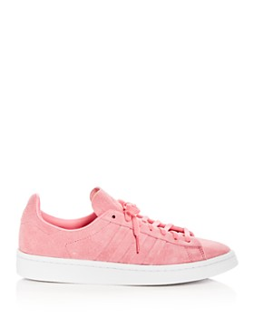 Adidas - Women's Campus Suede Lace Up Sneakers