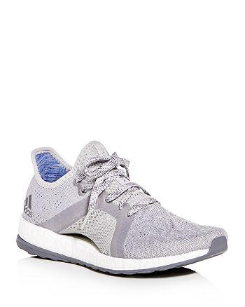 cdb8d40cdaf71e Adidas Women s Pureboost X Element Knit Lace Up Sneakers ...