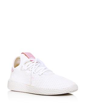 Adidas - x Pharrell Williams Women's Tennis Hu Lace Up Sneakers
