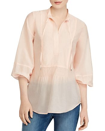 Ralph Lauren - Three-Quarter Sleeve Tunic