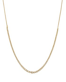 Bloomingdale's - Diamond Graduated Bolo Necklace in 14K Yellow Gold, 2.50 ct. t.w. - 100% Exclusive