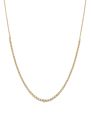 Bloomingdale's Diamond Graduated Bolo Necklace in 14K Yellow Gold, 2.50 ct. t.w- 100% Exclusive