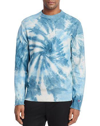 d23622ec3033 Champion Reverse Weave - Tie Dye Reverse Weave Crewneck Sweatshirt