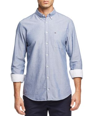 Tommy Hilfiger Engineered Oxford Regular Fit Button-Down Shirt 2893374