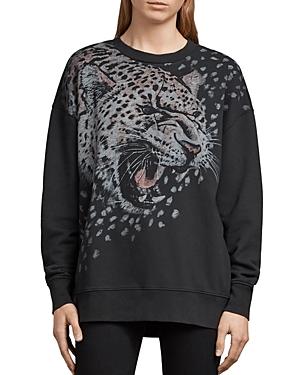 Allsaints Joy Sabre Graphic Sweatshirt