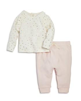Bloomie's - Girls' Heart-Print Tee & Jogger Pants Set, Baby - 100% Exclusive