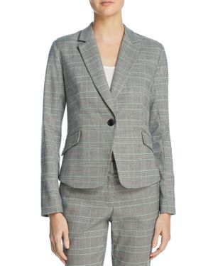 GLEN PLAID BLAZER - 100% EXCLUSIVE