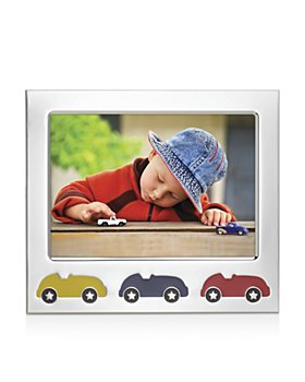 "Reed & Barton - Racecar Silverplate Frame, 5"" x 7"""