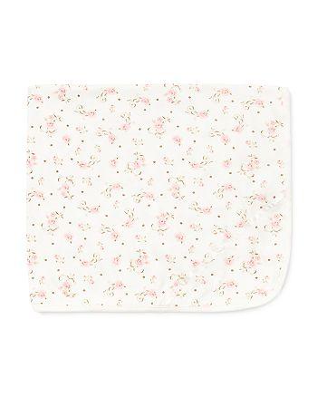 Little Me - Girls' Rose-Print Blanket - Baby