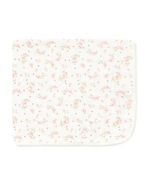 Little Me Girls' Rose-Print Blanket - Baby