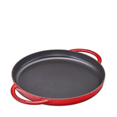 "Staub - 10"" Round Double Handle Pure Griddle"