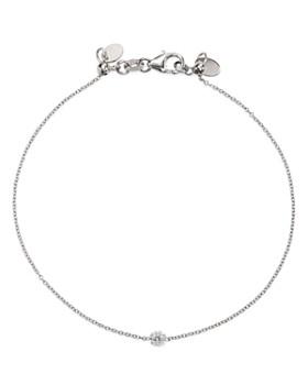 AeroDiamonds - 18K White Gold Solo Diamond Bracelet