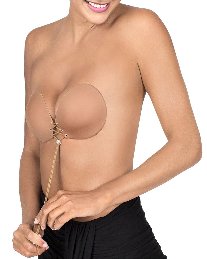 5681b16c26 Fashion Forms Sexy Strapless   Backless Lace-Up Push-Up Adhesive Bra ...