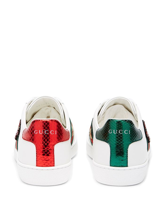 7fccbf6e4 Gucci Women's Ace Embroidered Sneakers | Bloomingdale's