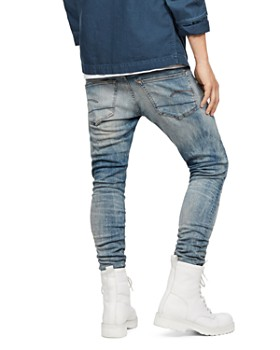 G-STAR RAW - 3301 Deconstructed Skinny Fit Jeans in Light Vintage
