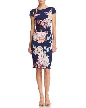 FLOWER MAGIC SHEATH DRESS - 100% EXCLUSIVE