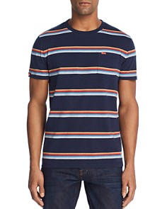 Superdry Striped Crewneck Tee - Bloomingdale's_0