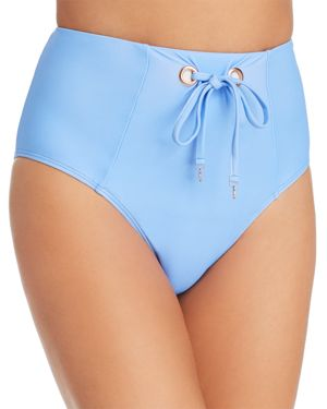 6 SHORE ROAD BY POOJA EASTEND HIGH WAIST BIKINI BOTTOM