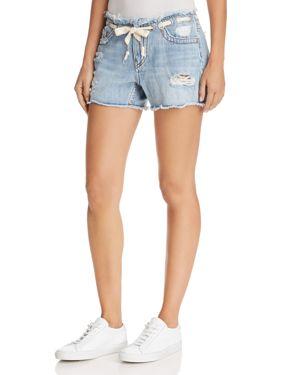 Fashion Denim Shorts In Baseline Destroy