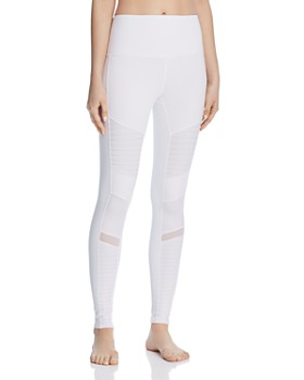 Alo Yoga - High-Waist Moto Leggings