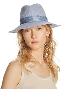 Eugenia Kim Courtney Feather-Trim Fedora - Bloomingdale's_0
