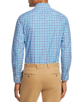 Canali - Check Regular Fit Button-Down Shirt