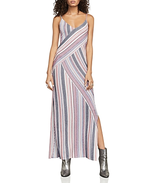 Bcbgmaxazria Dayln Striped Maxi Dress