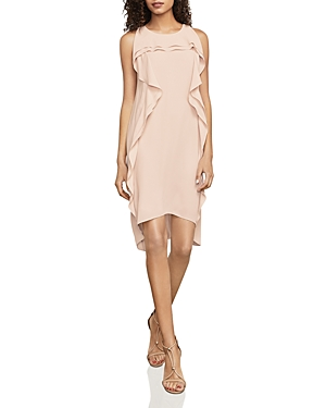 Bcbgmaxazria Nikole Ruffled High/Low Dress