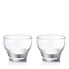 Georg Jensen - Henning Koppel Double Old Fashioned Glasses, Set of 2