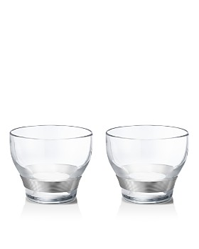 Georg Jensen - Henning Koppel Double Old Fashioned Glasses, Set of 2