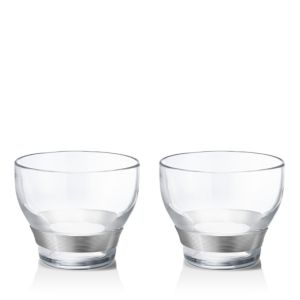 Georg Jensen Henning Koppel Double Old Fashioned Glasses, Set of 2