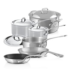 Mauviel M'Cook Stainless Steel 10-Piece Cookware Set - Bloomingdale's_0
