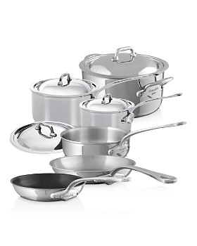 Mauviel - M'Cook Stainless Steel 10-Piece Cookware Set
