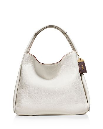 COACH - Bandit Hobo in Natural Pebble Leather
