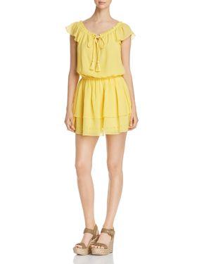 DARCIE FLUTTER DRESS