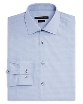 John Varvatos Star USA - Micro Check Regular Fit Dress Shirt
