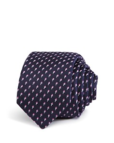 BOSS Abstract Bouquet Skinny Tie - Bloomingdale's_0