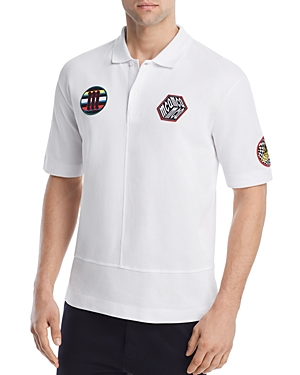 McQ Alexander McQueen Upcycled Patches Pique Polo Shirt