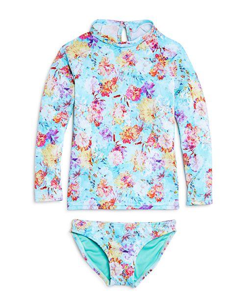 Peixoto - Girls' Hermosa Beach Rash Guard & Swimsuit Bottoms - Little Kid, Big Kid